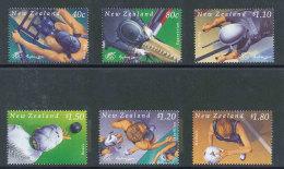 NOUVELLE-ZELANDE - 2000 - YT 1786/1791 NEUFS** LUXE MNH - Série Complète 6 Valeurs - Sport, J.O. Sydney - Unused Stamps