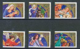 NOUVELLE-ZELANDE - 2000 - YT 1770/1775 NEUFS** LUXE MNH - Série Complète 6 Valeurs - Noël - Unused Stamps