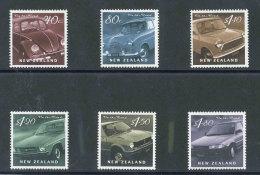 NOUVELLE-ZELANDE - 2000 - YT 1764/1769 NEUFS** LUXE MNH - Série Complète 6 Valeurs - Automobiles - Unused Stamps