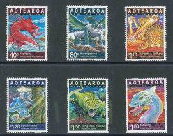 NOUVELLE-ZELANDE - 2000 - YT 1742/1747 NEUFS** LUXE MNH - Série Complète 6 Valeurs - Année Lunaire Chinoise Du Dragon - Unused Stamps