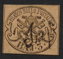Italia Italy Vatican Pontifical States 1852 BAJ.3 Used - Etats Pontificaux