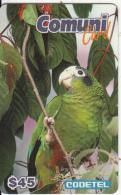 DOMINICAN REPUBLIC - Parrots, El Cotorra Dark, CODETEL Prepaid Card RD$45, Exp.date 31/03/97, Mint