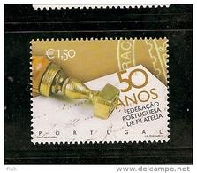 Portugal ** & 50 Anv. Da Federação Portuguesa De Filatelia 2004 (3103) - Philatélie & Monnaies