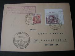 DDR Schwerin Brief SST Wismar 1953 Postkutche Befördert - Briefe U. Dokumente