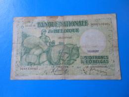 Belgique Belgium 50 Francs 1938 P.106 - [ 2] 1831-... : Regno Del Belgio