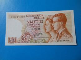 Belgique Belgium 50 Francs 1966 P.139 UNC - [ 6] Tesoreria