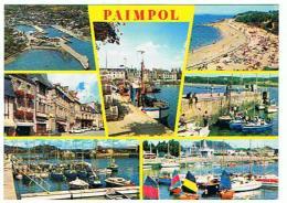 PAIMPOL LES BASSINS LA PLAGE ET LA PLACE DU MARTRAY  MULTIVUES  *****     A    SAISIR  ***** - Paimpol
