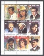 St.Vincent - 1991 Italian Artists Kleinbogen MNH__(THB-5387) - St.Vincent (1979-...)