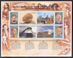 St.Vincent - 1997 Artists Of The 20th Centur Kleinbogen MNH__(THB-5799) - St.Vincent (1979-...)