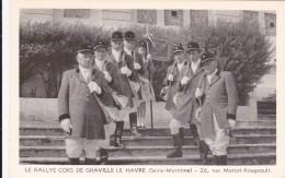 CARTE POSTALE   LE RALLYE CORS DE GRAVILLE LE HAVRE 76 - Graville