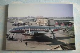 CONSTELLATION L 749A   TWA   N6014C  ORLY AIRPORT 1950           Carte Moderne - 1946-....: Era Moderna