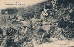 07 - LARGENTIÈRE - Ardèche - 24 Janvier 1924 - Eboulement Du Garage Vincent - Largentiere