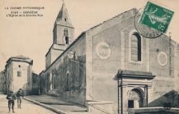 26 - DONZERE - Drôme - L'église Et La Grande Rue - Donzere