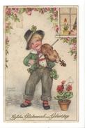 15840 - Herzlichen Glückwunsch Zum Geburtstage Jeune Violoniste - Petersen, Hannes