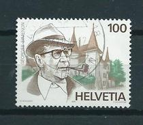 1994 Switzerland G.Simenon Used/gebruikt/oblitere - Gebruikt