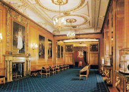 1 AK England * Windsor Castle - The Garter Throne Room *