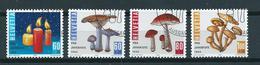 1994 Switzerland Complete Set Pilze,mushrooms,Pro Juventute Used/gebruikt/oblitere - Suisse