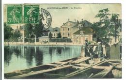 MONTCEAU LES MINES - La Direction ( Péniche ) - Montceau Les Mines