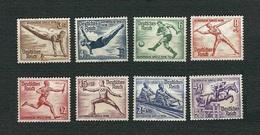 GERMANIA 1936 - Berlin Olympic Games - MH - Michel DR 609-616 - Germania