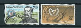 1981 New Zealand Complete Set Mixed Issue Used/gebruikt/oblitere - Nieuw-Zeeland