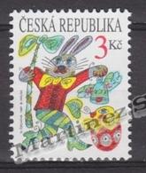 Czech Republic - Tcheque 1997 Yvert 135 Easter -  MNH - Tchéquie