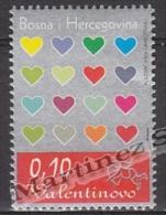 Bosnia Herzegovina - Mostar - Croatia 2004 Yvert 102, Saint Valentines - MNH - Bosnie-Herzegovine