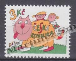 Czech Republic - Tcheque 1996 Yvert 114 For The Children  -  MNH - Tchéquie
