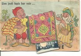 BONE, Carte à Système, LIVE JOULI TAPIS BOR VOIR ... - Annaba (Bône)