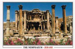 1 AK Jordanien Jordan * The Nemphaeum Im Antiken Jerash (auch Gerasa) - Antike Römische Stadt * - Jordanien