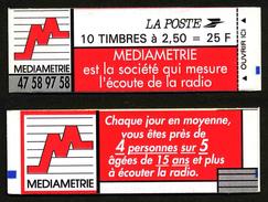 FRANCE - CARNET YT 2720-C3 - FERME - DATE - RE - Carnets