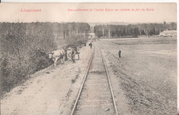 60 Liancourt  Raccordement De L'usine Bajac Au Chemin De Fer - Liancourt