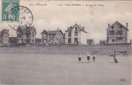 Cpa-22- Val André -animée (partie De Croquet Sur La Plage)-groupe De Villas -edi E.l.d. N°2157 - Pléneuf-Val-André