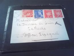 Lettre  Du Cher Pour MAROC ESPAGNOL Adre à DUCHESSE DE GUISE En Exil 1941 Taxée  TB - 1941-42 Pétain