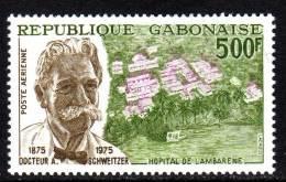 Gabon PA  N° 159  XX  Centenaire De La Naissance Du Docteur Albert Schweitzer Sans Charnière, TB - Gabon