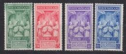 Vatican City 1939 Coronation Pope Pius XII 4v ** Mnh (33392) - Vaticaanstad
