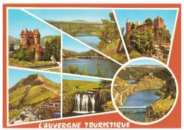 Regions-auvergne-garabit-chateau De Sailhant-chateau De Val - Pont De Treboul - Puy Mary - Cascade De Veyrines - Alleuze - Auvergne