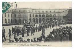 CPA - OBSEQUES DES VICTIMES DE LA REPUBLIQUE LES QUATRES CORBILLARDS - Versailles Yvelines 78 - Circulé - Funérailles