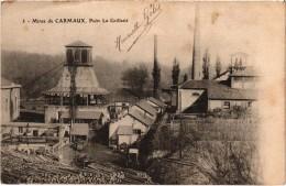 Carmaux Mines De Carmaux Puits La Grillatié  Carte Précurseur - Carmaux