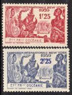 Océanie N° 128 / 29 X  Exposition Internationale De New YorK 1939 La Pairetrace De  Charnière Sinon TB