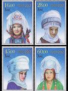 Kirgizië / Kyrgyzistan - Postfris / MNH - Complete Set Traditionele Hoofddeksels 2012 - Kirgizië
