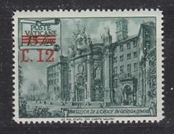 Vatican City 1952 Definitive / Overprinted 1v ** Mnh (33395) - Vaticaanstad