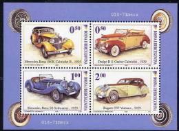 BOSNIA HERCEGOVINA (Sarajevo) 2006 Vintage Automobiles Block MNH / **.  Michel Block 29 - Cars