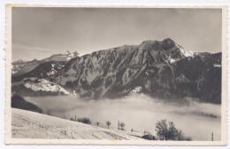 LEYSIN - Le Chamossaire, L'Oldenhorn Et Le Scex Rouge -bon état - 2 Scans - VS Valais