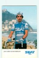 Juan Carlos ALONSO DERTEANO . 2 Scans. Cyclisme. Seat Orbea 1986 - Radsport