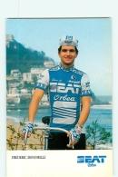 Frederic BONOMELLI . 2 Scans. Cyclisme. Seat Orbea 1986 - Radsport