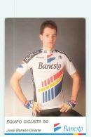 Jose Ramon URIARTE . 2 Scans. Cyclisme. Banesto 1990 - Cyclisme
