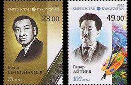 Kirgizië / Kyrgyzistan - Postfris / MNH - Complete Serie Bekende Personen 2012 - Kirgizië