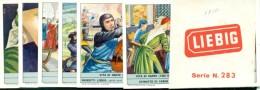 LIEBIG . SERIE N.  1810- DANTE ALIGHIERI - VITA DI DANTE - CON FASCETTA ORIGINALE - Liebig