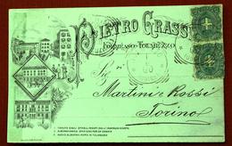 1900 FORMEASO TOLMEZZO PIETRO GRASSI / Carnia / Stazione Per La Carnia - Venzone / Arta Terme - Altre Città