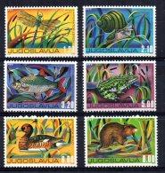 Yugoslavia -  1976 - Freshwater Fauna - MNH - Neufs